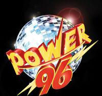 WPOW Power 96 logo