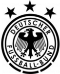 DFB logo (eagle, three black stars)