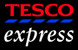 Tesco Express new black
