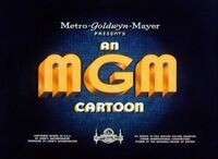 An MGM Cartoon Logo