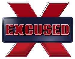 Excused logo