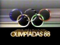 Olimpiadas 88 Rede Globo