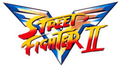 Street FIghter II V title card