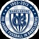 SV Babelsberg 03 logo (110 Jahre Fussball in Babelsberg)