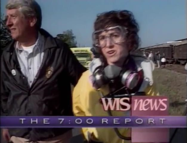 WIS-TV's WIS News' The 7 O'Clock Report Video Open From April 1991