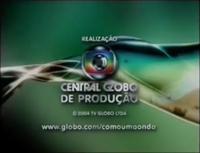 Como uma Onda seal short Globo 2000 logo 2004