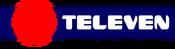 Logo de televen - cintillo para imprenta 1988