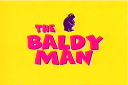 Baldy Man Title Screen