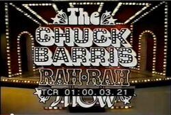 Chuck barris rah rah show