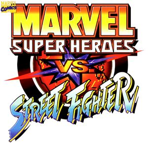 Marvel Super Heroes vs Street Fighter Logo 1