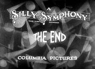 Silly Symphonies 1930 End Title Card
