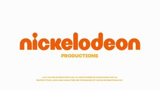 Nickelodeon Productions - 2017 Logo