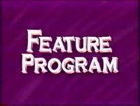 Walt Disney Studios Home Entertainment Buena Vista Feature Program Logo 1992 g