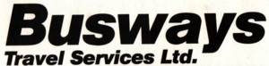 Busways Travel Services logo 1986