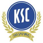 Karlsruher SC logo (120 Jahre)