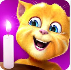 Ginger's Birthday App Icon