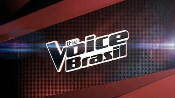 The Voice Brasil novo logo