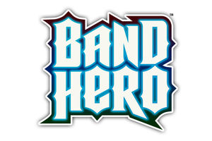 Band Hero Logo Colour Stacked