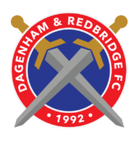 Dagenham and Redbridge FC logo (introduced 2014)