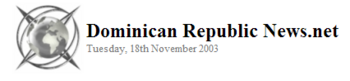 Dominican Republic News.Net 2003