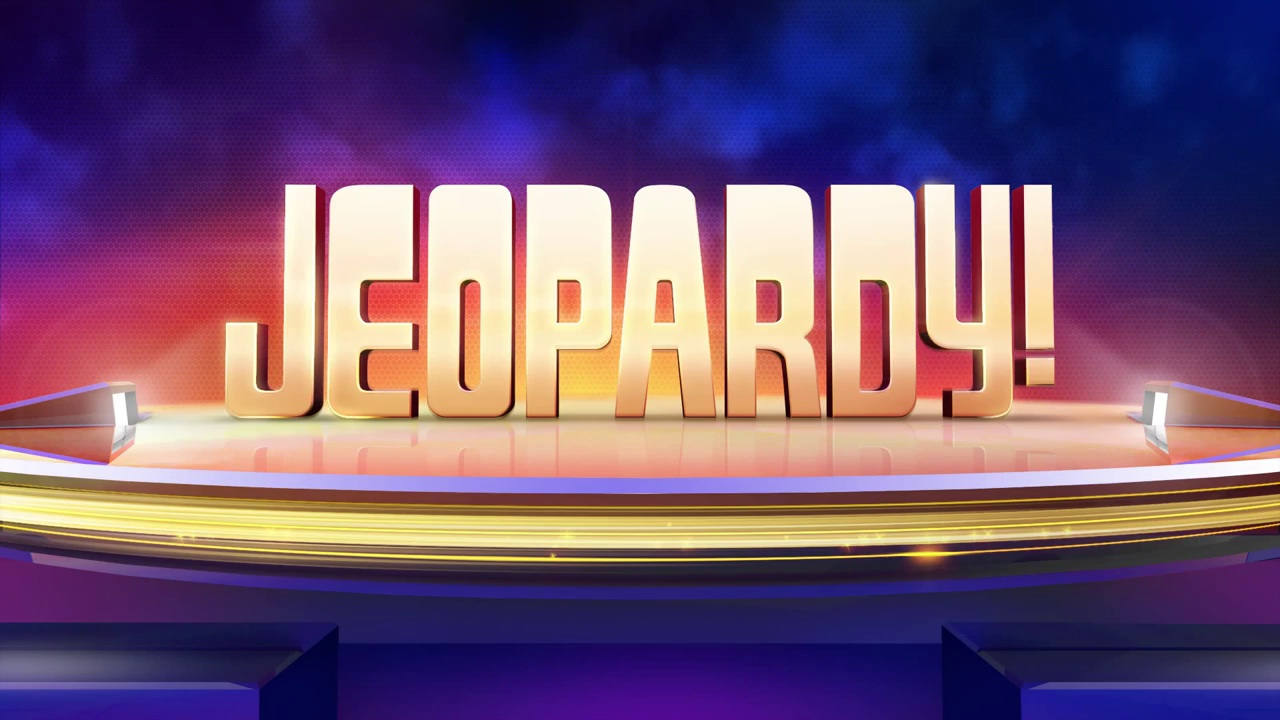 Jeopardy Logo Game Show Television