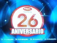 RBC TV 26 Aniversario 2012