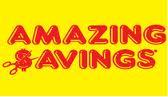 Amazing Savings