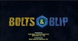 Bolts & Blip Titlecard