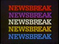 CBS Newsbreak 1985