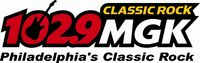 WMGK 102.9 logo