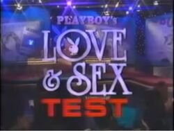 Playboy's Love & Sex Test