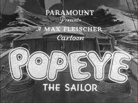 Popeye The Sailor 2