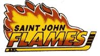 Saint John Flames logo (1993-1998)