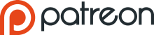 Patreon logo with wordmark