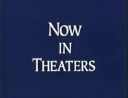 Walt Disney Studios Home Entertainment Buena Vista Now in Theaters Logo