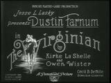 Paramount 1914-the virginian