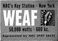 WEAF 1945