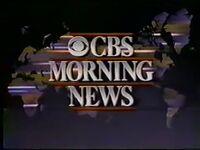 CBS Morning News 1989