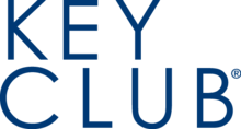 Wordmark KeyClub stacked blue PNG