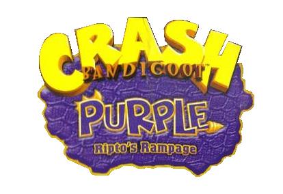 Crash Bandicoot Purple Ripto's Rampage