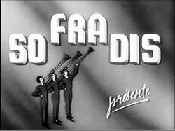 Sofradis Présente 1953 Logo