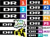 DR logos 2013