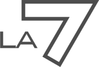 LA7 old logo grey
