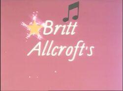 Britt Allcroft's