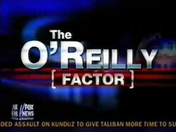 The oreilly factor2001a