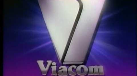 """Viacom The Ultra Warp Speed """"V of Steel"""" Logo"""