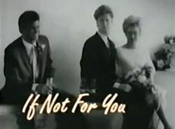If not for you-show