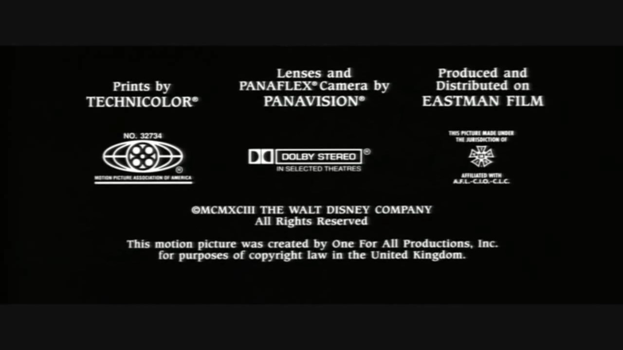 Prints By Deluxe Credits: The Three Musketeers 1993 MPAA Credits.jpg