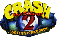 Crash Bandicoot 2 Cortex Strikes Back logo