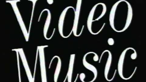 The Video Music Collection (1986) VHS UK Logo
